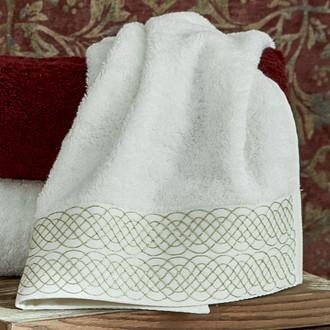 Полотенце для ванной в подарочной упаковке Ecocotton TUGRA органический хлопок (кремовый)