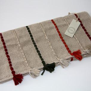 Коврик , полотенце для ног Ecocotton KATARI органический хлопок бежевый 50х80