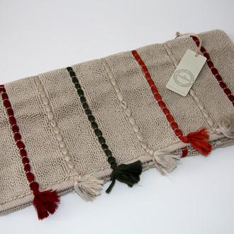 Коврик , полотенце для ног Ecocotton KATARI органический хлопок бежевый