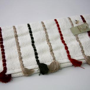 Коврик , полотенце для ног Ecocotton KATARI органический хлопок кремовый 50х80