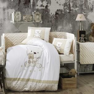 Детское постельное белье Hobby Home Collection BONITA хлопковый поплин золотой