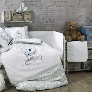 Детское постельное белье Hobby Home Collection BONITA хлопковый поплин минт