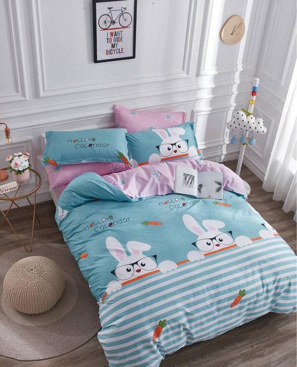 Постельное белье детское Tango TWILL 224 хлопковый сатин 1,5 спальный, фото, фотография