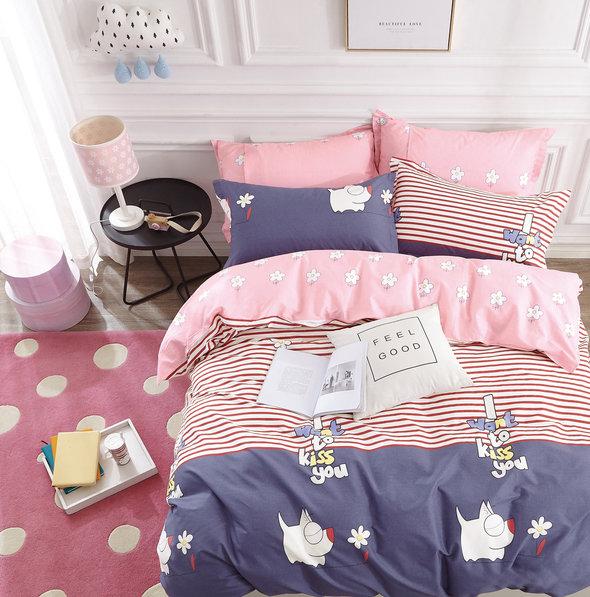 Постельное белье детское Tango TWILL 347 хлопковый сатин 1,5 спальный, фото, фотография