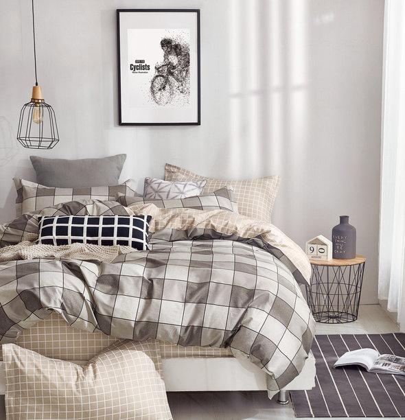 Постельное белье Tango TWILL 190 хлопковый сатин 2-х спальный (нав. 50*70), фото, фотография