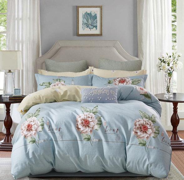 Постельное белье Tango TWILL 198 хлопковый сатин 1,5 спальный, фото, фотография