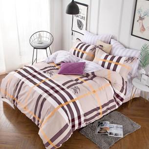 Постельное белье Tango TWILL 439 хлопковый сатин 2-х спальный (нав. 70х70)
