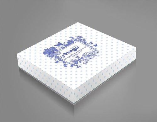 Постельное белье Tango TWILL 668 хлопковый сатин 2-х спальный (нав. 70х70), фото, фотография