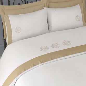 Комплект постельного белья Issimo Home BLANCHE хлопковый сатин делюкс (бежевый)