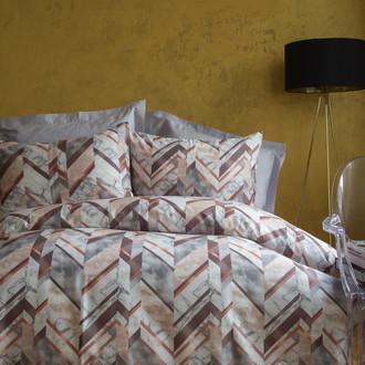 Комплект постельного белья Issimo Home SATIN CARRERA хлопковый сатин делюкс (серый)