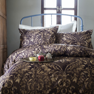 Комплект постельного белья Issimo Home RANFORCE TERRA хлопковый ранфорс коричневый