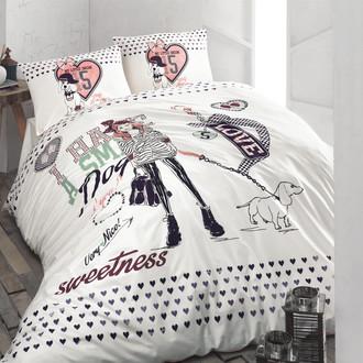 Комплект подросткового постельного белья Issimo Home RANFORCE MY LITTLE DREAM хлопковый ранфорс