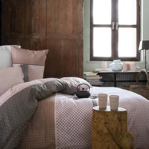 Постельное белье Issimo Home RANFORCE FREY хлопковый ранфорс пудра 1,5 спальный