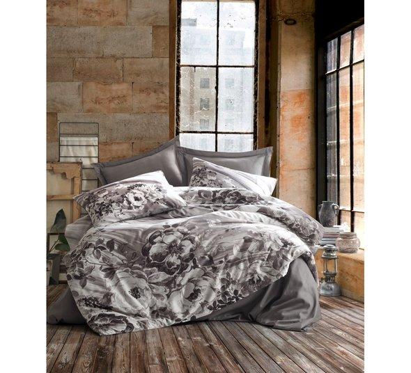 Постельное белье Cotton Box SATEN BELINDA хлопковый сатин (бежевый) евро, фото, фотография