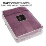 Набор полотенец для ванной в подарочной упаковке 32х50, 50х100, 75х150 Soft Cotton DELUXE хлопковая махра коричневый, фото, фотография