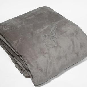 Плед Tivolyo Home SOFT TASLI микрофибра коричневый 200х220