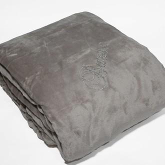 Плед Tivolyo Home SOFT TASLI микрофибра коричневый