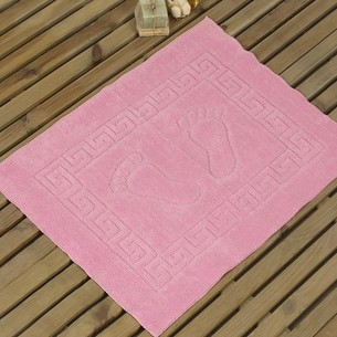 Коврик Karna LIKYA полиэстер розовый 50х70