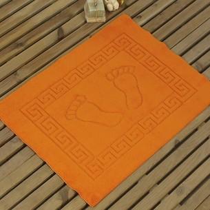 Коврик Karna LIKYA полиэстер оранжевый 50х70