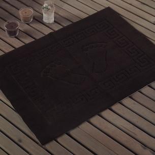 Коврик Karna LIKYA полиэстер тёмно-коричневый 50х70