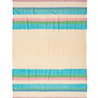 Полотенце пештемаль для пляжа, сауны, бани Begonville CLASSIC BREEZE VENICE хлопок