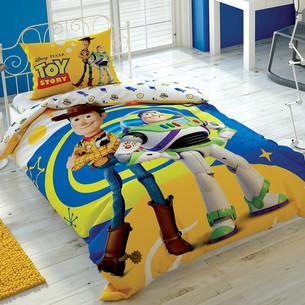 Детское постельное белье TAC TOY STORY 4 хлопковый ранфорс 1,5 спальный