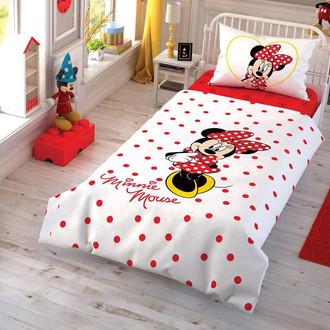 Детское постельное белье TAC MINNIE CEK хлопковый ранфорс