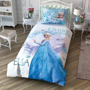 Детское постельное белье TAC FROZEN CEK хлопковый ранфорс 1,5 спальный