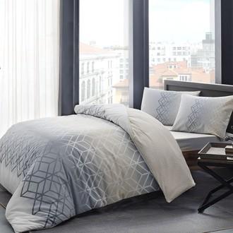 Комплект подросткового постельного белья TAC PLAY хлопковый ранфорс (серый)