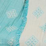 Плед Begonville EPHESUS хлопок turquoise 130х180, фото, фотография