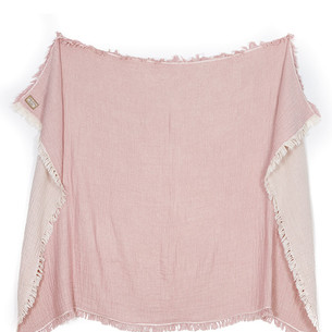 Плед Begonville TROY хлопок pink 130х180