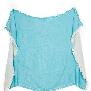 Плед Begonville TROY хлопок turquoise 130х180