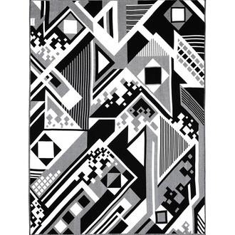 Плед Begonville BLACK & WHITE хлопок (discord)