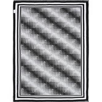 Плед Begonville BLACK & WHITE хлопок (moire)