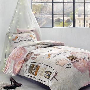 Детское постельное белье Tivolyo Home INNA хлопковый сатин делюкс 1,5 спальный