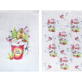 Набор кухонных полотенец Hobby Home Collection ПОДАРОК махра V16