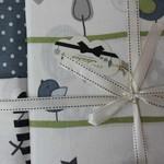 Постельное белье для новорожденных Istanbul Home Collection BIRDLY серый, фото, фотография