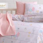 Постельное белье для новорожденных Istanbul Home Collection BIRDLY розовый, фото, фотография