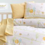 Постельное белье для новорожденных Istanbul Home Collection BIRDLY жёлтый, фото, фотография