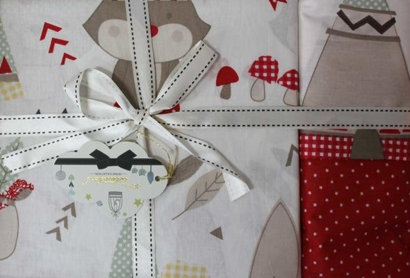 Постельное белье для новорожденных Istanbul Home Collection JUNGLE красный, фото, фотография