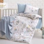 Постельное белье для новорожденных Istanbul Home Collection JUNGLE синий, фото, фотография