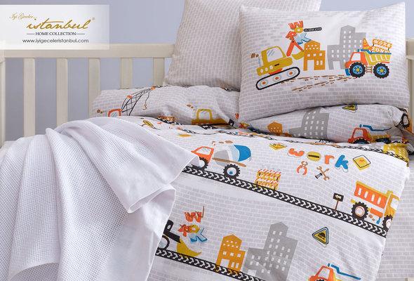 Постельное белье для новорожденных Istanbul Home Collection TRUCK, фото, фотография