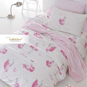 Детское постельное белье Istanbul Home Collection GENC RANFORCE BALLERINA хлопковый ранфорс 1,5 спальный