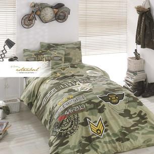 Детское постельное белье Istanbul Home Collection GENC RANFORCE PEACE хлопковый ранфорс 1,5 спальный