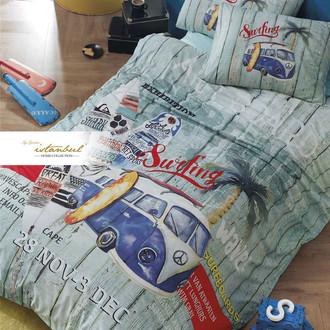 Детское постельное белье Istanbul Home Collection GENC RANFORCE SURFER хлопковый ранфорс