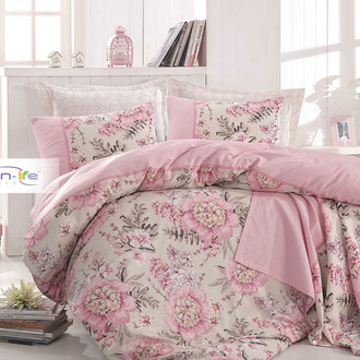 Постельное белье Istanbul Home Collection COTTON LIFE BELISSIMO ранфорс (пудра)