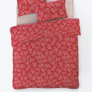 Постельное белье Istanbul Home Collection FANCY ALIZE ранфорс красный евро