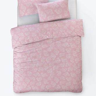 Постельное белье Istanbul Home Collection FANCY ALIZE ранфорс розовый евро