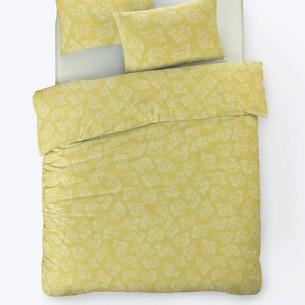Постельное белье Istanbul Home Collection FANCY ALIZE ранфорс жёлтый 1,5 спальный
