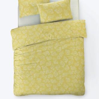 Постельное белье Istanbul Home Collection FANCY ALIZE ранфорс жёлтый